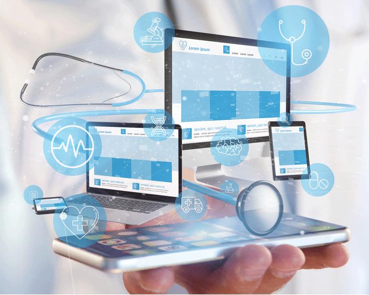 Webseitenvorschau von inVita auf mobilen Endgeräten und Desktop