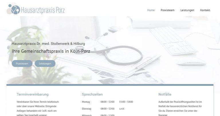 Referenzbild Hausarztpraxis Porz